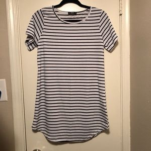 Stripped Tee Dress